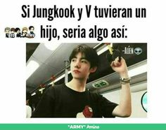 I don't know Spanish but I think I understand is Taehyunggg and Kookie together in one person who is this boy?????