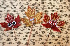 Leaf Peepers :: A Fun and Easy Fall Craft for Kids - The Artful Parent