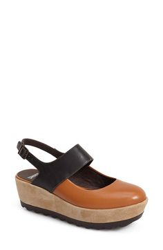 Camper 'Laika' Slingback Platform Sandal (Women) available at #Nordstrom