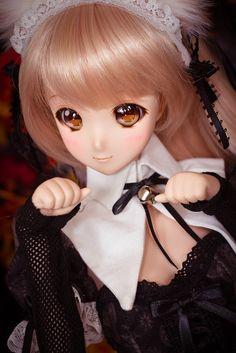 Mirai Suenaga Smart Doll by *jadepixel
