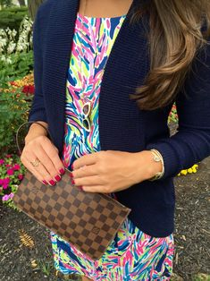 Lilly Pulitzer Palm Reader ~ Live, Laugh, and Shop