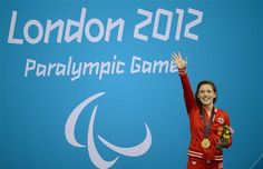Canada's Summer Mortimer wins gold medal at London 2012 Paralympic Games. Summer finished first in the women's freestyle event in a world-record time of seconds on Friday in London Summer Games, 10 Seconds, World Records, Athlete, Friday, Canada, Colours, London, Fitness