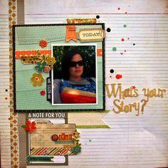 Scrapbook Circle » Ideas » Nicoles Sunshine Day Ideas