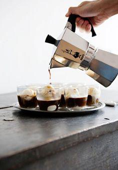 Affogato -- Espresso and Ice Cream