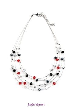 Hot Wired necklace - Just $24 #valentinesday #gifts #justjewelry