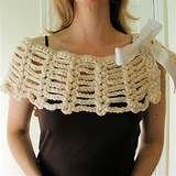 CROCHETED CAPELET PATTERN – Crochet