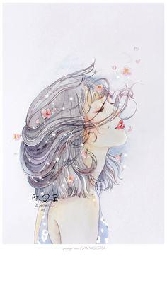 How to lưu Anime Girl Cute, Beautiful Anime Girl, Beautiful Girl Drawing, Art Anime, Anime Art Girl, Girly Drawings, Art Drawings, Pretty Art, Cute Art
