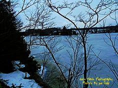 Winter on Isabella Lake taken near the Chutes East of orrville Ontario