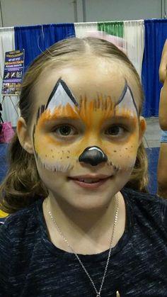 #foxfacepainting #zoofacepaint #funfacesballooncreationsfacepaint Fox Face Paint, Carnival, Painting, Painting Art, Paintings, Carnival Holiday, Drawings