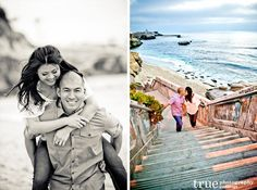 La Jolla Cove Beach Engagement Shoot | Jamie and Tyson / just added