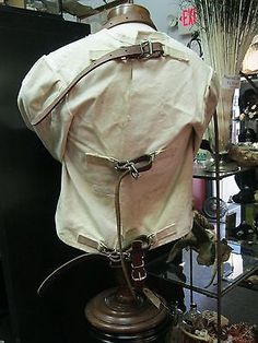 RARE Victorian Mental Hospital Straight Jacket Insane Asylum Sanatorium Mental