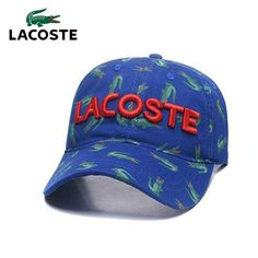 7d4bc767353 ... new arrival lacoste hunting caps summer men outdoor sport tennis cap  classic style