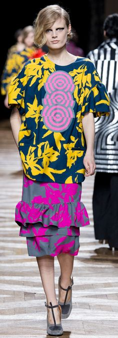 Dries Van Noten - Fall 2014 | The House of Beccaria~