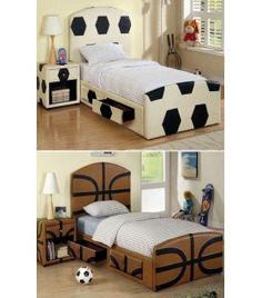 Modern furniture Brooklyn NY: Twin Size Soccer Headboard Only FA-CM7103SCCR-T New