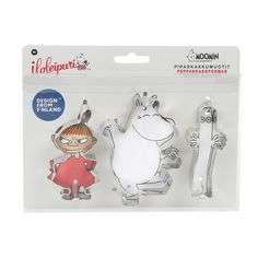 Moomin gingerbread forms