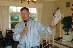 Scott Peters addresses the Point Loma Democratic Club - May 18, 2014