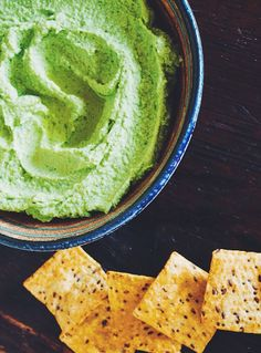 Hip Green Dip | avocado, edamame and lime, + white beans for extra creaminess