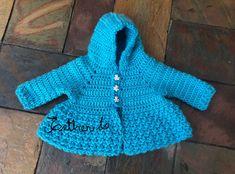 Crochet Baby Sweater Pattern, Baby Sweater Patterns, Baby Sweaters, 3 Months, Etsy, Dresses, Fashion, Vestidos, Moda