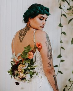 t's time to celebrate Latinx culture through this vibrantly styled wedding inspiration, and of course, with alpacas! Bridal Hair And Makeup, Hair Makeup, Bridal Portrait Poses, Hispanic Heritage Month, Two Brides, Wedding Dress Boutiques, Most Beautiful Images, Bridal Pictures, Custom Cake Toppers