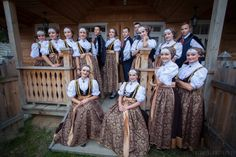Regional costumes from Cieszyn, Poland. Polish Clothing, Polish Folk Art, Folk Dance, Folk Costume, Reference Images, My Heritage, Bridesmaid Dresses, Wedding Dresses, Life Inspiration