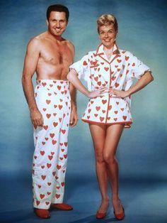2ea825cc3b THE PAJAMA GAME (1957) - John Raitt (Bonnie s father)  amp  Doris