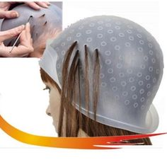 2017 New Reusable One Size Silicone Salon Hair Coloring Highlighting Dye Cap With Frosting Tipping Hair Color Styling Tools-in Hair Care & Styling from Beauty & Health on Aliexpress.com | Alibaba Group