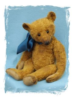 Artist made teddy bear, one of a kind, vintage style, hand made, mohair, jointed, made by Daniela Melse, Dany Baeren.