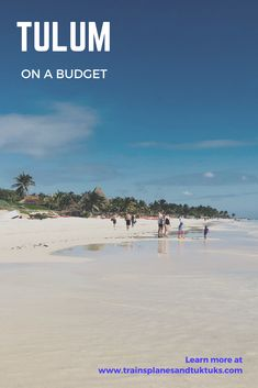 Visit Tulum, Mexico on a budget and experience Mexico's best beaches and Mayan ruins. #Mexicoholidaysdestinations