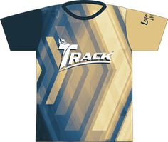 Created using Style Track logo full front and locker tag. Locker Tags, Bowling, Arrows, Track, Male Style, Softball, Logo, Sleeve, Shirt