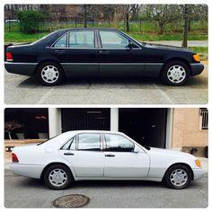#Classic 1992 #Mercedes #Benz W140 #SClass