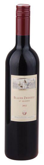 In stock - 5,72€ 2012 Winzer Krems Blauer Zweigelt St.Severin, red dry, Austria
