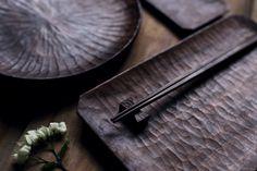 walnut tray by Yunjun