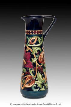 Moorcroft - Pottery; Earthly Paradise, Rachel Bishop