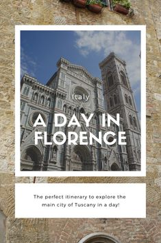 A day in Florence, Italy - Claire Imaginarium Florence Italy, Tuscany, Adventure Travel, Claire, Travelling, Travel Tips, To Go, Europe, Explore