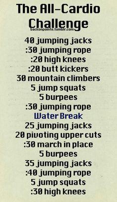 Great at home workout!