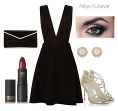 """Balance 2"" by alifya-kurawar on Polyvore featuring New Look, Kate Spade, Jimmy Choo and Lipstick Queen"