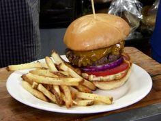 BBQ Pork Burger from FoodNetwork.com