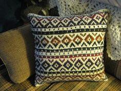 fair isle pillow - Google Search