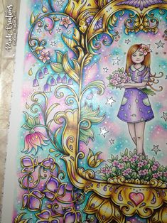 Ivy and the Inky Butterfly Coloring Book By Johanna Basford #inkyivy