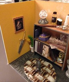Miniature Harry Potter Room - MISCELLANEOUS TOPICS
