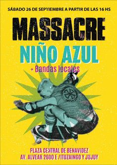 #Massacre #niñoazul
