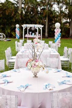 cinderella party centerpieces