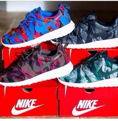 new style 55a52 dae4c Must have Roshe Run, Nike Roshe, Zapatos Roshe, Zapatos Deportivos,  Camuflaje,