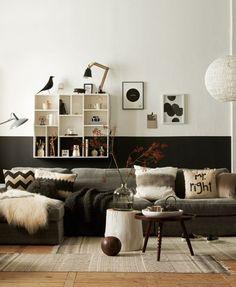 Pintar la pared a dos colores. Lo ultimo para tu decoracion - Blog decoración y Proyectos Decoración Online