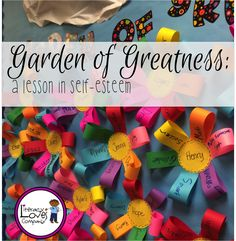 Brighten up your classroom and your student& self esteem with this colorful bulletin board and lesson. Self Esteem Crafts, Self Esteem Activities, Counseling Activities, Therapy Activities, Activities For Kids, Scout Activities, Social Emotional Learning, Social Skills, Nurtured Heart Approach