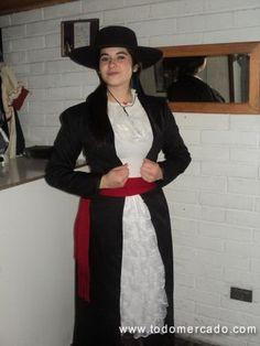 Vestido de huasa elegante Chile, Traditional, Blazer, Formal, Jackets, Fashion, Suits, Fiestas, Sweet Treats