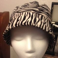 I just discovered this while shopping on Poshmark: Zebra Cuff Winter Fleece Hat. Check it out!  Size: 7-14