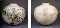 Jim Dine vases - round