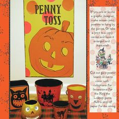 Fun and games from A Harvest and Halloween Handbook