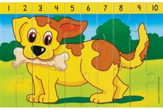 Number Puzzles, Math Centers, Games For Kids, Farm Animals, Personal Development, Worksheets, I Am Awesome, Preschool, Activities